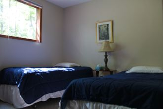 The Lower Dancehall third bedroom. (Two singles)