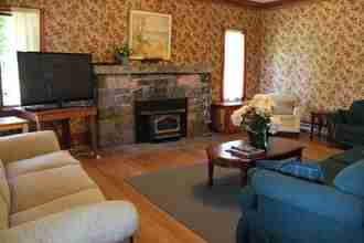The Main Lodge family room