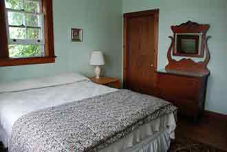 The Main Lodge master bedroom. (Queen)